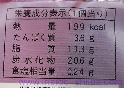 安納芋のシュークリーム(ファミマ) カロリー 糖質