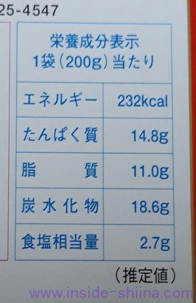 牛すじカレー(niko) カロリー 糖質