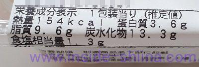 きのこと根菜のガーリックマヨサラダ(ファミマ) カロリー 糖質