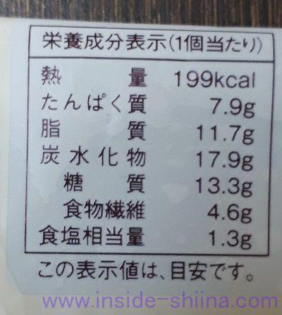 大麦のハムたまごロール カロリー 糖質