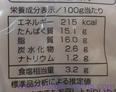 角切りベーコン カロリー 糖質