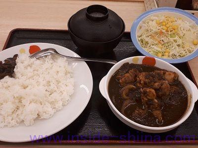 ごろごろ煮込みチキンカレー(松屋)