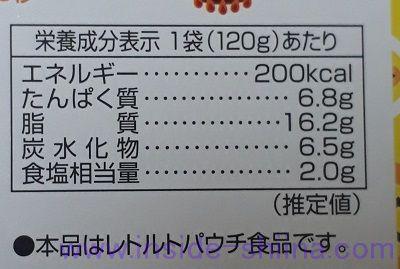 カルボナーラ(カルディ) カロリー 糖質