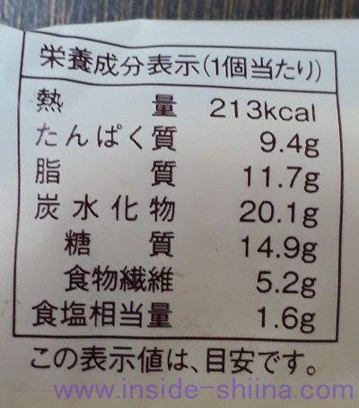 大麦のあらびきソーセージパン カロリー 糖質