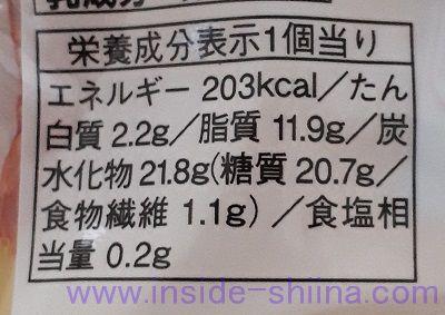 栗のあんパイ(ファミマ) カロリー 糖質