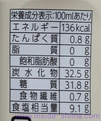 ブルドック ウスターソース カロリー 糖質