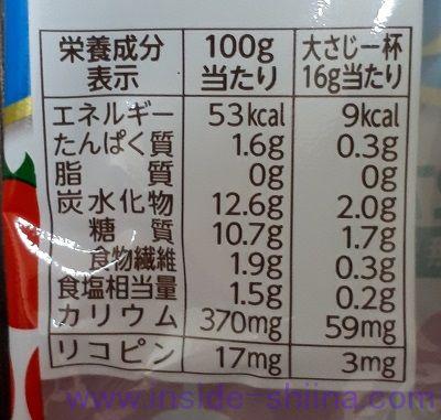 カゴメケチャップハーフ カロリー 糖質