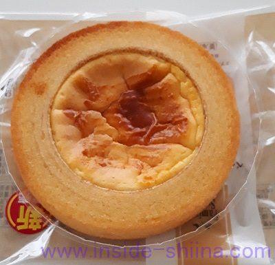 ベイクドチーズのバウム(ファミマ) 見た目