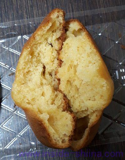 しっとり甘食国産小麦粉使用2個入 断面
