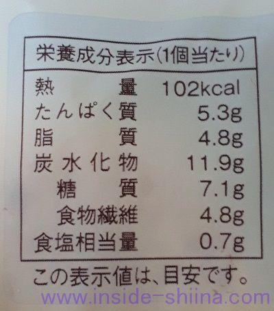 大麦のサラダチキンパンシーザーサラダ味2個入 カロリー 糖質