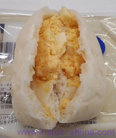 たまごのしっとりパン2個入 中身