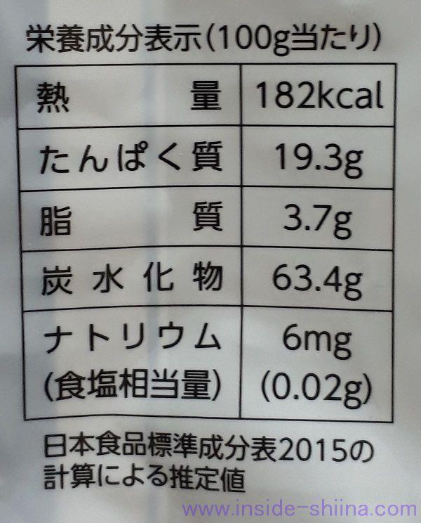 干し椎茸(どんこ)1個のカロリーと糖質量は?