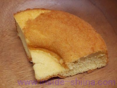 ローソン 大麦のシフォンケーキバニラ2個入(税込150円)見た目