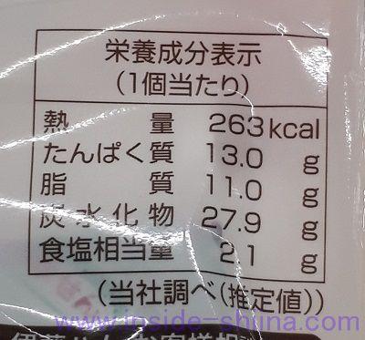 グリルチキン&バジルマヨ(ファミマ) カロリー 糖質