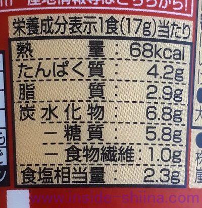 純豆腐スンドゥブチゲスープ(日清食品) カロリー 糖質