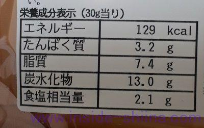 NUKA365プレーン カロリー 糖質