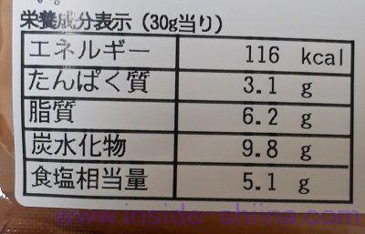 NUKA365梅しそ カロリー 糖質