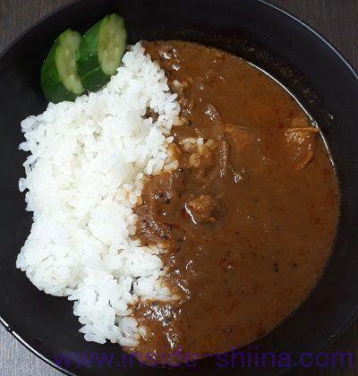 11種類のスパイスと国産鶏スパイシーカレー(ISETAN MITSUKOSHI THE FOOD) 見た目
