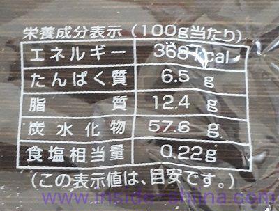 長崎バウムクーヘン 中 カロリー 糖質