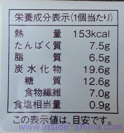 ローソン 大麦のベーコンポテトパン カロリー 糖質
