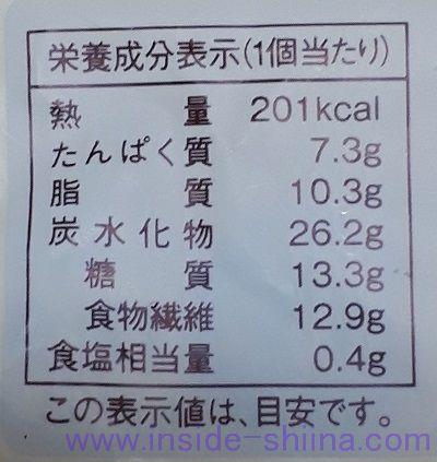 ローソン 大麦のショコラホイップパン カロリー 糖質