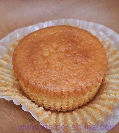 無印の糖質オフ!ミルクマフィン(Milk Muffin)見た目