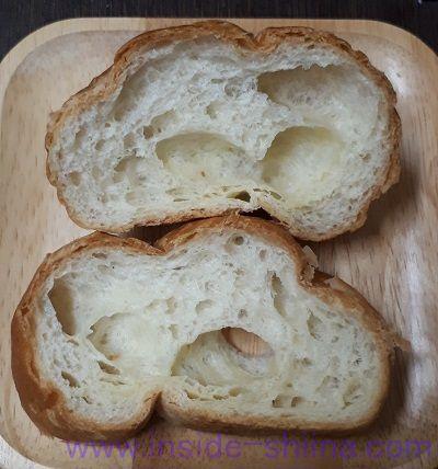 塩バターフランスパン(ヤマザキ) 見た目