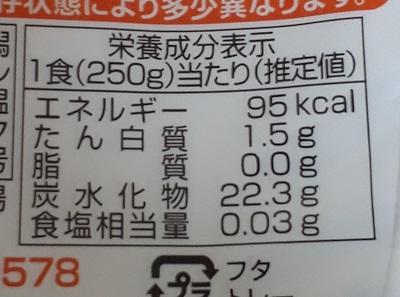 新潟県産こしひかり白がゆ カロリー 糖質