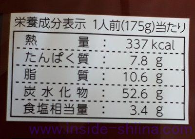 札幌すみれ監修 まかない焼きそば カロリー 糖質
