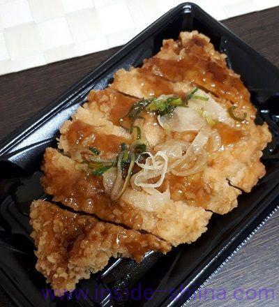 長州ハーブ鶏サクサク揚げ(照焼オニオン)
