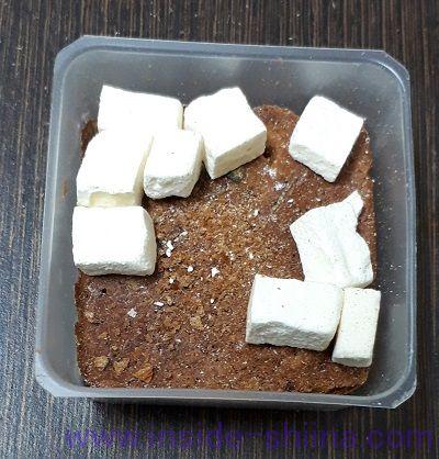 減塩いつものおみそ汁赤だし三つ葉入り(アマノフーズ) 中身