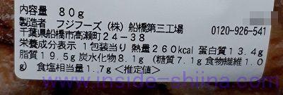 豚の味噌漬け焼き(セブン) カロリー 糖質