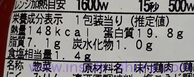 鶏のにんにく醤油焼き(ファミマ) カロリー 糖質