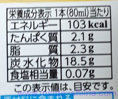 森永 れん乳氷バー カロリー 糖質
