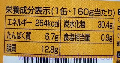 吉野家 缶飯 豚丼のカロリー、糖質、脂質