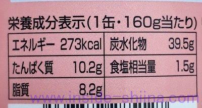 吉野家 缶飯 焼鶏丼のカロリー、糖質、脂質