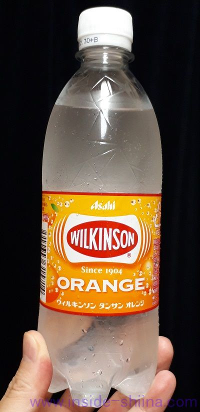 ウィルキンソンタンサン オレンジ!味とカロリー、糖質は!!