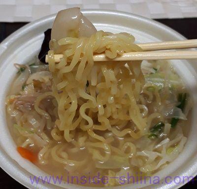 タンメン(セブン) 麺