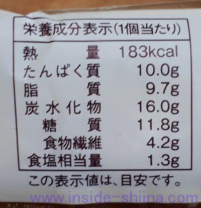 ローソン 大麦のチョリソーソーセージパン カロリー 糖質