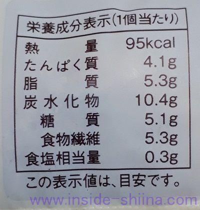 ローソン 大麦のミルクボール2個入(税込140円) カロリー 糖質