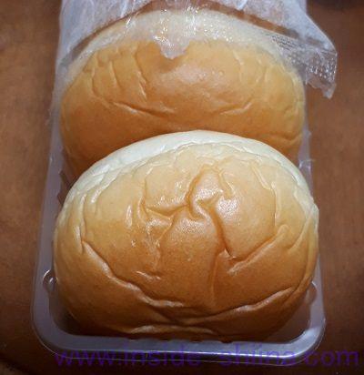 薄皮ピーナッツパン(ヤマザキ) 見た目