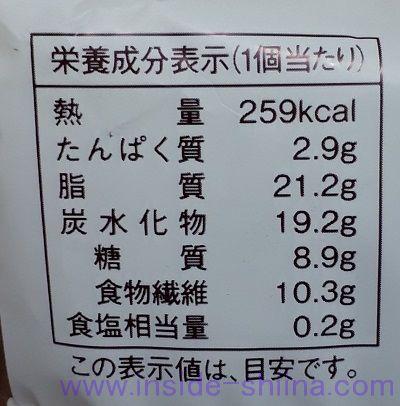 ローソン アーモンドケーキピスタチオ(税込140円) カロリー 糖質
