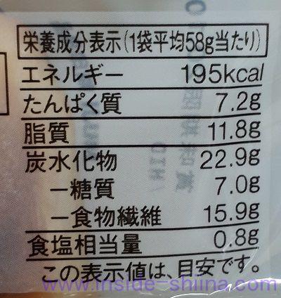 無印良品 塩バター2個 カロリー 糖質