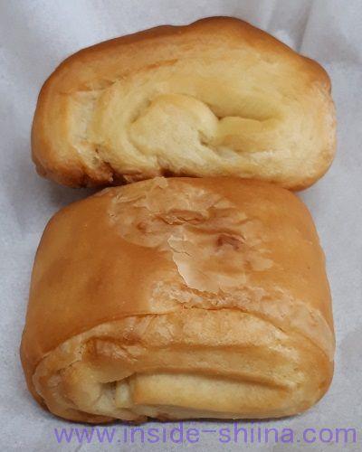 無印良品の低糖質パン!塩バター2個(Salt & Butter Bread)見た目