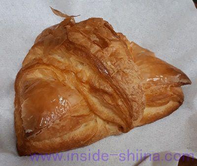 無印良品の低糖質パン!クロワッサン(Croissant)見た目