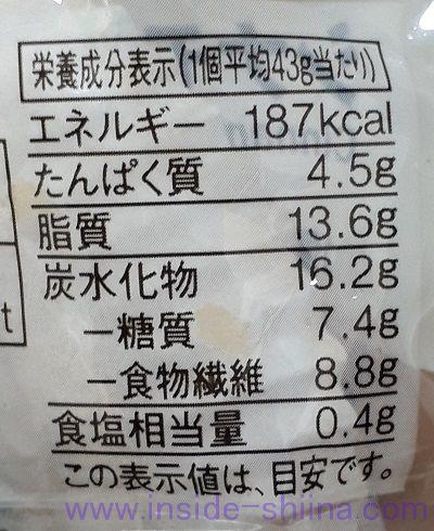 無印良品 シナモンロール(Cinnamon Roll Bread)カロリー 糖質