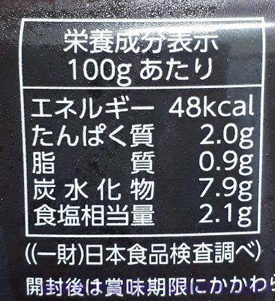 匠の絶品キムチ(ハンウル) カロリー 糖質