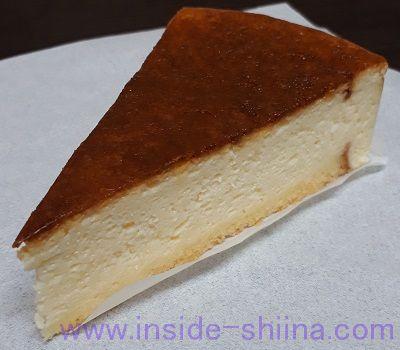 バスク風チーズケーキ 見た目