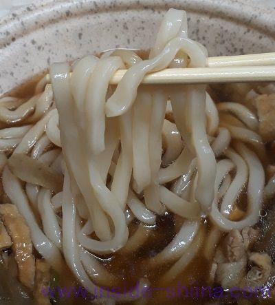 肉うどん 麺