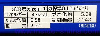 森永製菓 ムーンライトクッキーのカロリー、糖質、脂質は!